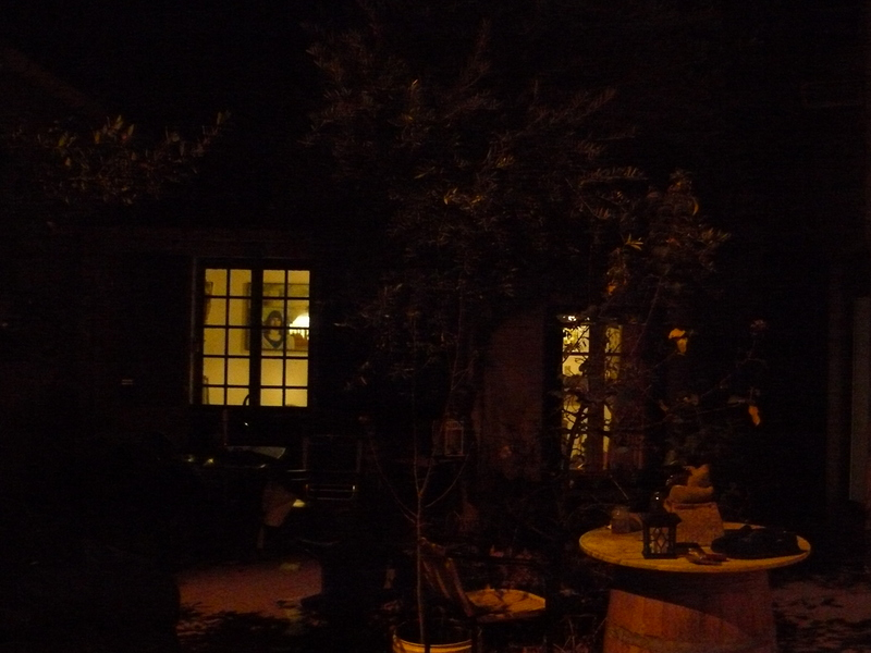 Mijn huisje in de winter.